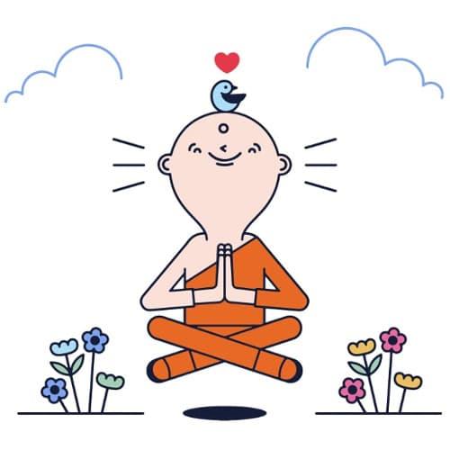 como meditar en un minuto