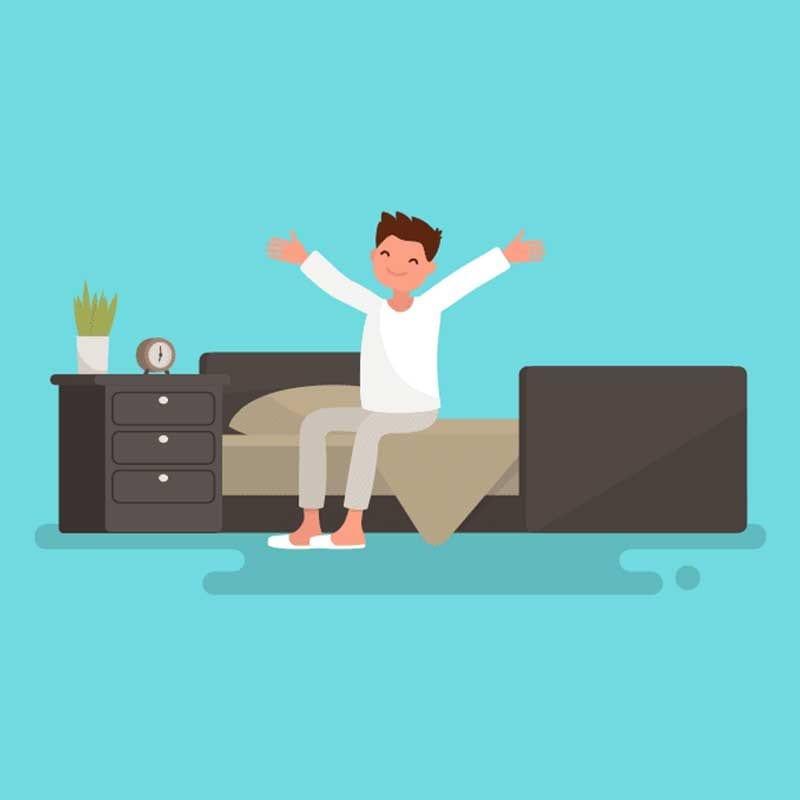 como meditar al despertar