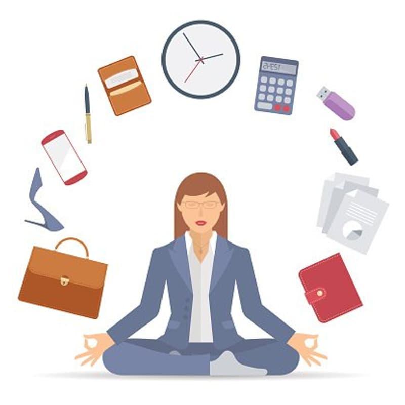 como meditar en el trabajo