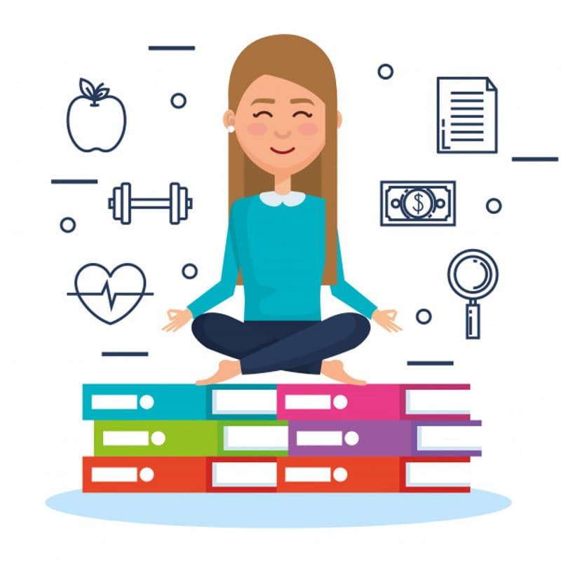 como meditar para bajar de peso